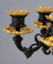 Gilded and patinated bronze, France end ot XIX thC