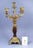 brąz złocony, markieteria z szylkretu i blachy mosiężnej, II połowa XIX w