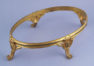 gilded bronze, crystal glass insert c. 1900
