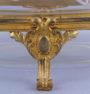 brąz złocony, szkło kryształowe, ok. 1900r.