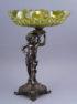 cyna srebrzona, szkło opalizujące, pocz. XX w