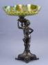 silvered tinn, iridescent glass beginning of the 20th century