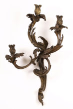 patinated brass, late 19thC