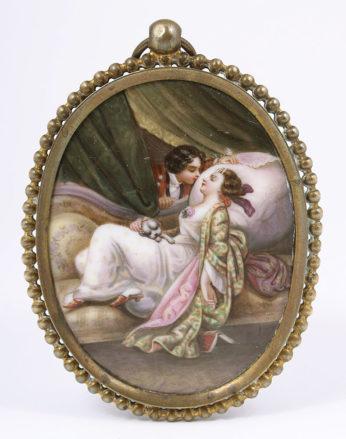 porcelana ręcznie malowana, XX w.