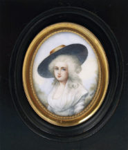 gouache on ivory, late 19thC