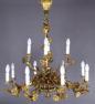 Brąz złocony, Francja, kon. XIX w.