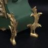 masyw czereśnia, barwiony, aplikacje brąz i blacha mosiężna, kon. XVIII w.