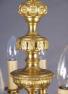 mosiądz i brąz złocony, cyzelowany, koniec XIX w.