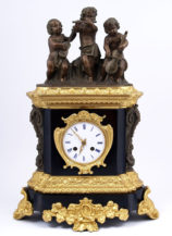 bronze, metal composition, 19thC.