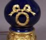 porcelana kobaltowa, brąz złocony, ok. 1900r.