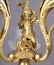 brąz złocony cyzelowany, początek XX w.