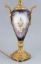 porcelana kobaltowa , mosiądz, około 1900 r.