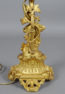 brąz złocony, cyzelowany, porcelana, kon. XIX w.