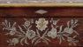 okleiny palisander, inkrustacja z blachy mosiężnej, cyny, kości, masy perłowej, kon. XIX w.