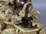 brąz, brąz polerowany i patynowany, repusowany, Paryż II poł. XIX w.