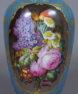 porcelana ręcznie malowana, mosiądz, pocz. XX w.
